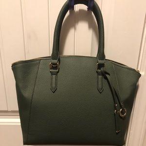 Olive color JustFab handbag